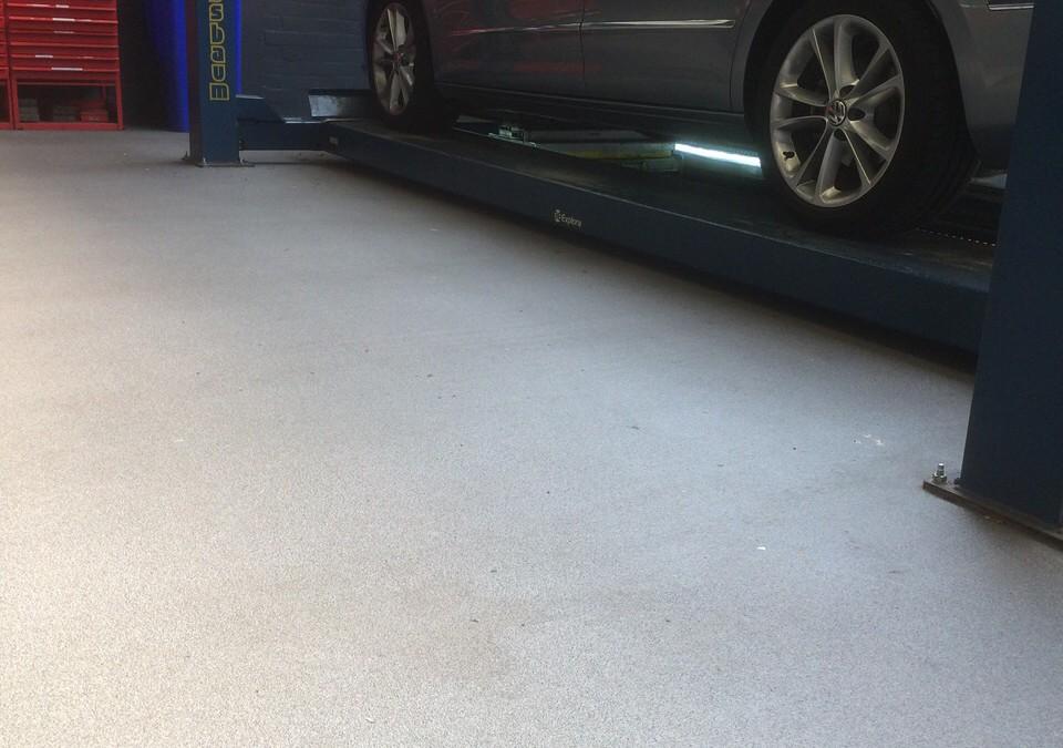 Garagevloer van topkwaliteit