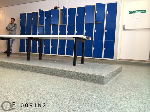 Vloeren douche toilet ruimtes q flooring