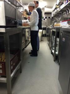 Horecavloer: keukenvloer horeca