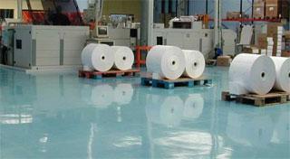 Productiebedrijf vloer - industriële vloer