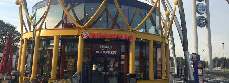 Horecavloer Burger King Amsterdam Foodstrip