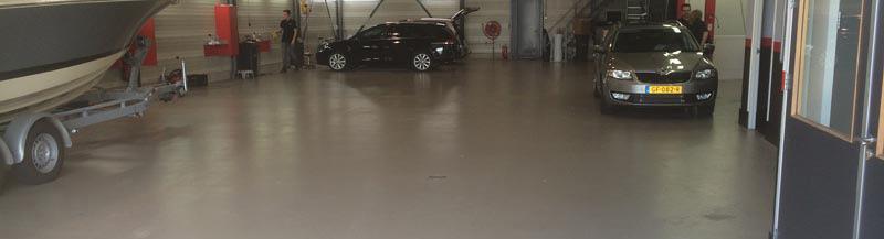Vloer (garagevloer) poetsbedrijf Zeeland