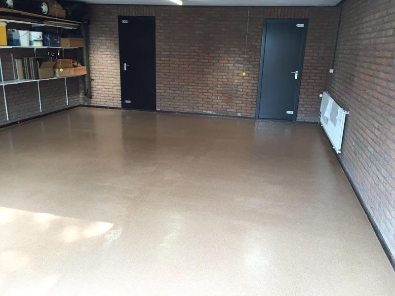 Garagevloer gietvloer garage q flooring