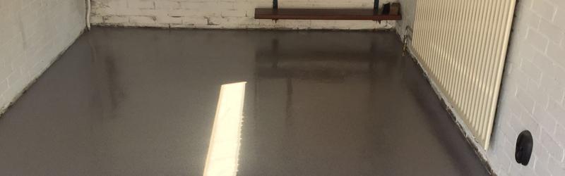 Garagevloer Alphen aan den Rijn – kunststof gietvloer garage