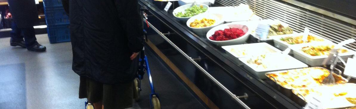 Vloer groentewinkel – winkelvloer
