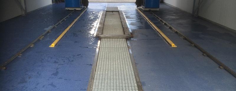 Wasstraatvloer Zeeland – kunststof vloer voor wasstraat