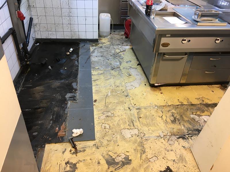 Horeca Vloeren Keuken : Horeca vloer arnhem u2013 kunststof gietvloer keuken restaurant q