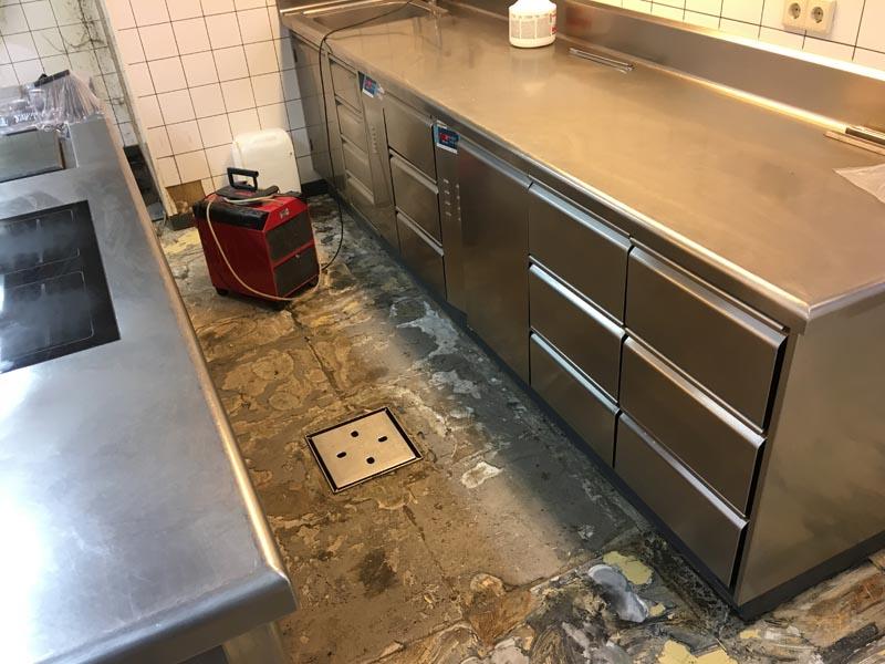 Horeca vloer Arnhem – kunststof gietvloer keuken restaurant - Q ...