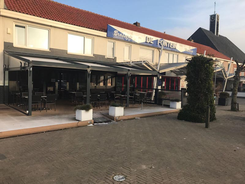 Horecavloer Zeeland – kunststof HACCP vloer snackbar / viswinkel Westkapelle