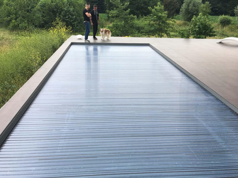 Zwembad Op Dakterras : Vloer dakterras appeltern u kunststof gietvloer op terras met