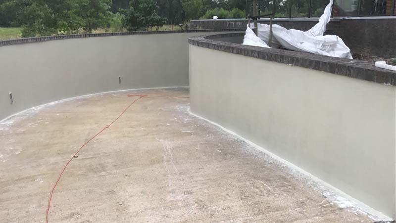 Gietvloer oprit garage u gegoten kunststof buitenvloer op beton