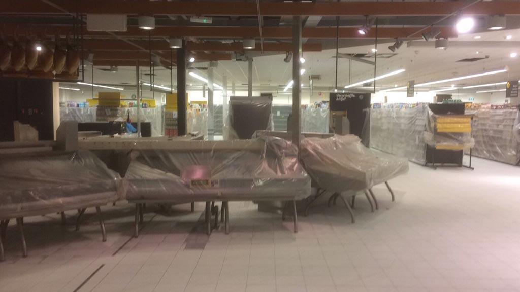 Gietvloer Den Bosch : Supermarktvloer den bosch u2013 kunststof gietvloer jumbo q flooring