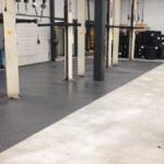 vloer garagebedrijf