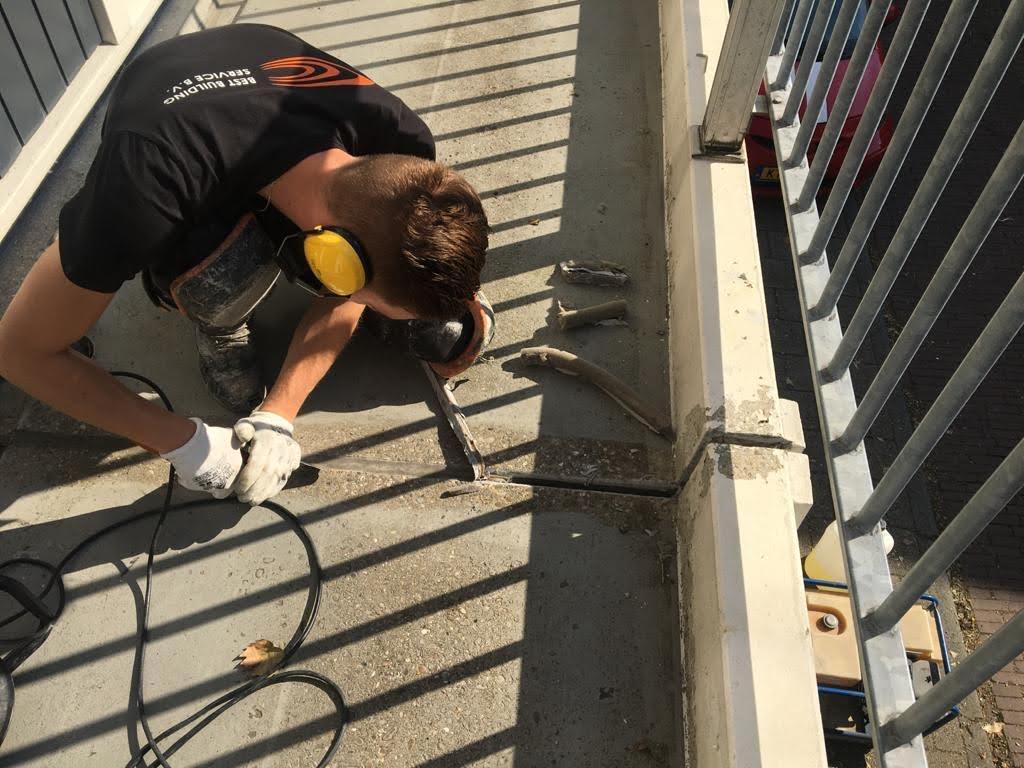Antislip galerijvloer realiseren met behulp van PMMA-vloersysteem