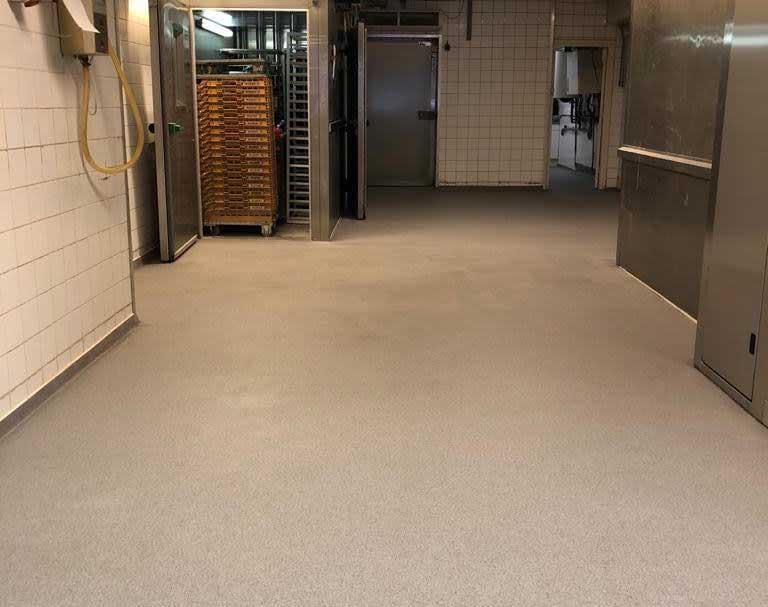 Bakkerijvloer in Delft voldoet aan HACCP-eisen